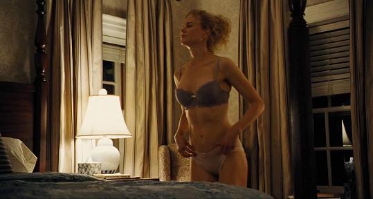 Oscarová herečka má skvělou figuru.