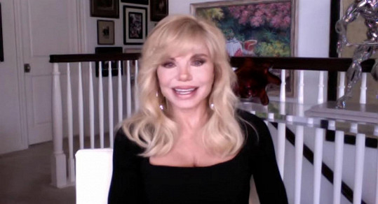 Loni Anderson v show Andyho Cohena