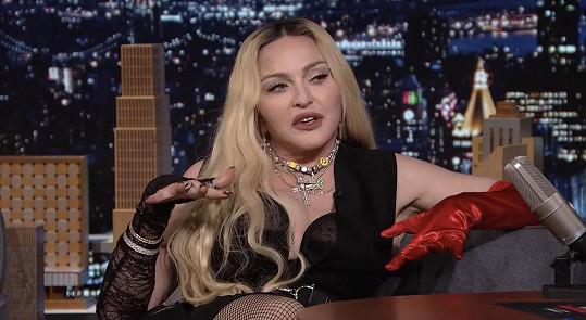 Madonna byla dost náročným hostem v televizním pořadu.