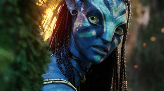 Jako Neytiri v Avatarovi