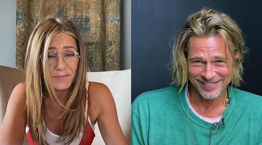 Jennifer Aniston a Brad Pitt se připojili k charitativnímu čtení na podporu organizací Core a Reform.