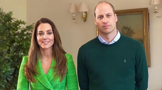 Princ William a vévodkyně Kate popřáli do Irska šťastný Den sv. Patrika.