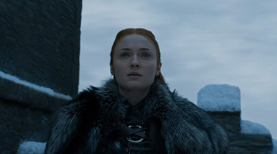 Jako Sansa Stark ve Hře o trůny