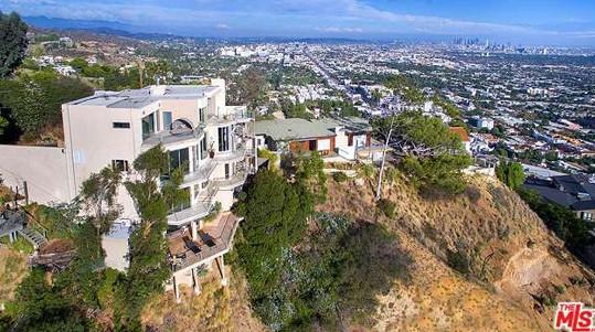 Dům Nicole Scherzinger v Hollywood Hills