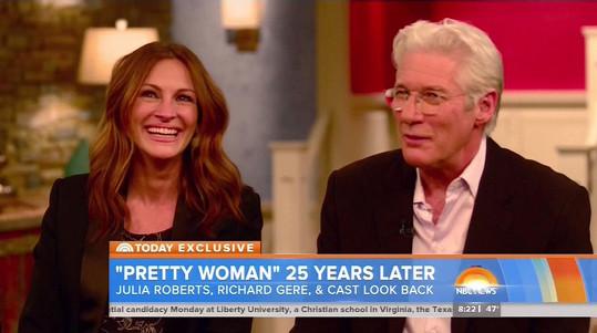 Julia i Richard jsou starší o 25 let, ale o své charisma nepřišli.