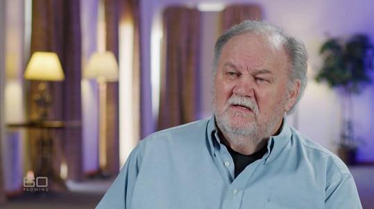 Thomas Markle se objevil v pořadu 60 Minutes australské stanice Nine Network.