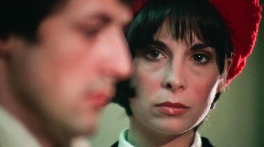 Do role Adrian zvažovali tvůrci například zpěvačku Cher, nakonec vyhrála Talia.