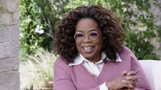 Slavná moderátorka na březnovém rozhovoru vydělala sedm milionů dolarů (asi 156 milionů Kč).