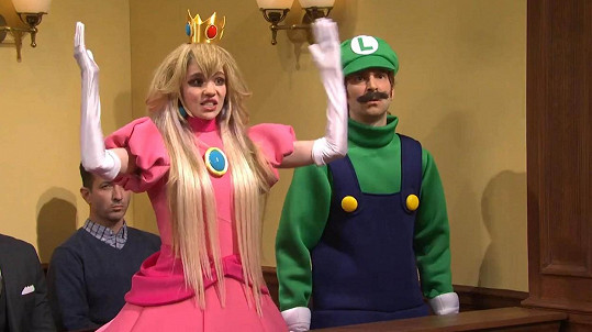 Grimes v Saturday Night Live show