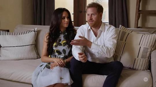 Princ Harry a vévodkyně Meghan chystají velký rozhovor s Oprah Winfrey.