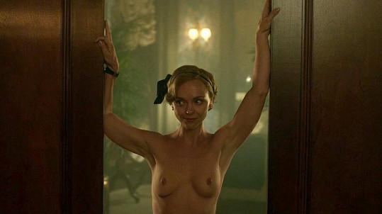 Christina Ricci jako nahá Zelda Fitzgerald