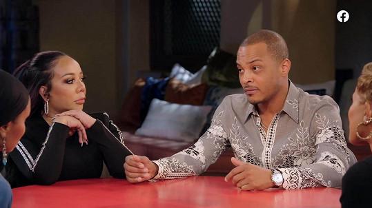 Rapper T.I. s manželkou dorazili do pořadu Red Table Talk.