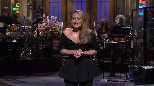Adele zhubla po rozchodu s manželem přes 40 kilogramů.
