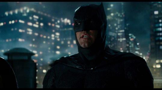 Ben Affleck jako Batman moc neobstál.
