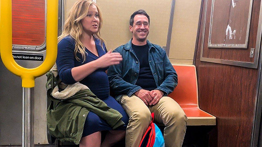 Amy s manželem Chrisem Fischerem