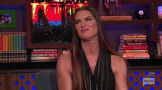 Brooke Shields zavzpomínala na Trumpovo nevhodné gesto.