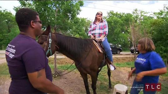 Susan si užila první džíny i první jízdu na koni!