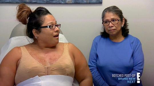 Po operaci se jí opět vrátilo sebevědomí.