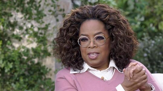 Winfrey rozhodně ví, jak diváky zaujmout.