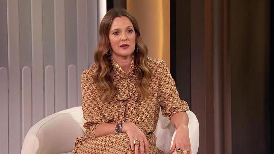 Drew Barrymore přiznala, že nebyla na rande celých pět let.