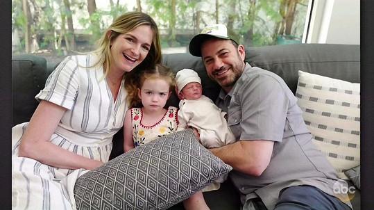 Jimmy a Molly mají druhé dítě.