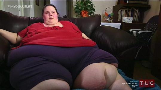 Dottie Perkins nedodržela dietu.
