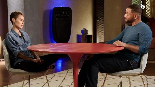 Jada Pinkett Smith učinila doznání manželovi ve svém pořadu Red Table Talk.