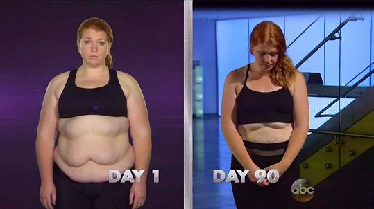 Amber shodila celkem 39 kilogramů.