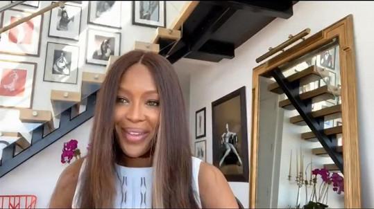 Naomi Campbell rozjela vlastní show s názvem No Filter with Naomi.