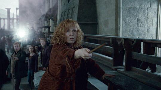 Jedna z nejpopulárnějších rolí Julie Walters byla Molly Weasleyová v Harrym Potterovi.