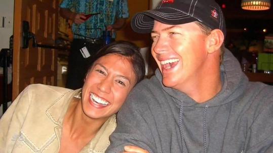 Matt Mauser zpíval pro svou ženu Christine, která loni zahynula při leteckém neštěstí.