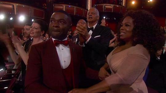 Oprah Winfrey sdílela s hercem emotivní chvilky.