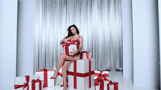 Sexy Irina ve vánoční kampani