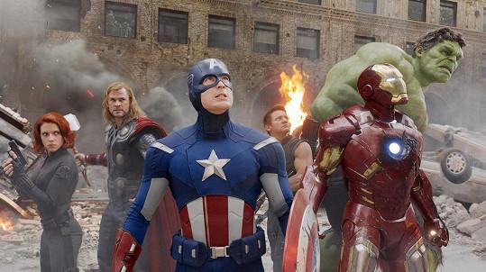Herci se už společně objevili ve filmu Avengers (2012).