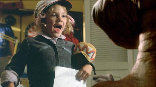 Drew Barrymore reagovala ve filmu E.T.-Mimozemšťan zcela autenticky.