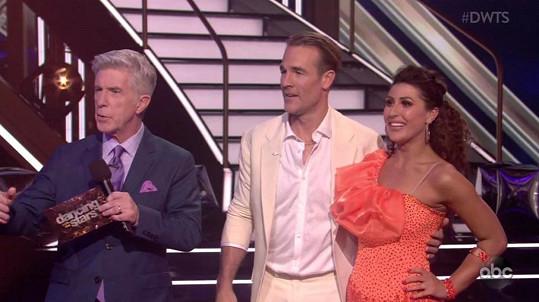 Van Der Beek v pořadu Dancing With The Stars, kde se s radostnou novinkou pochlubil.