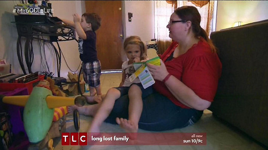Po dvou potomcích sice něco nabrala, ale pořád se drží na únosné váze.
