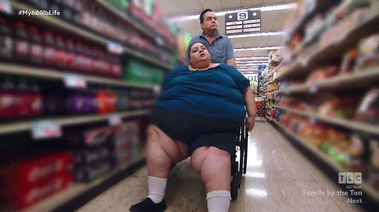 A bez vozíku se vůbec nemohla pohybovat.