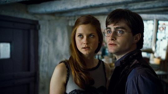 Její nejslavnější rolí byla Ginny Weasley, do které se zamiloval Harry Potter.