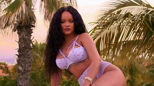 Rihanna je často sama sobě modelkou.