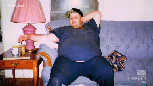 James měl vždy sklony k obezitě.