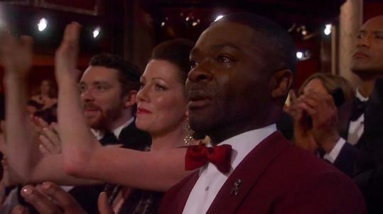 David Oyelowo a spousta dalších plakali při vystoupení Johna Legenda.