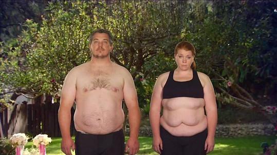 Bryce Mulvey a Amber Brown se poznali jako dva tlouštíci.