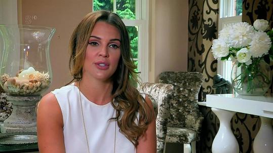 Danielle o svém trápení promluvila v televizním pořadu.