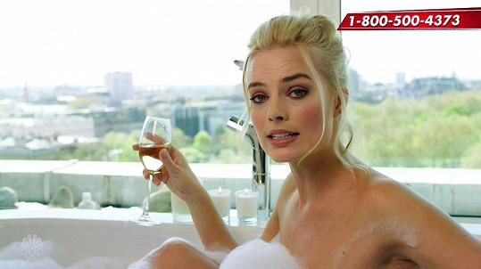 Australská herečka ráda provokuje.