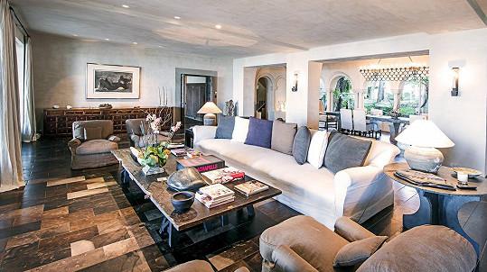 Obývací místnost pro náročné...