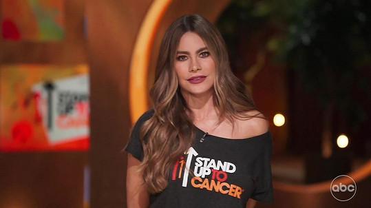 Sofia promluvila o rakovině ve speciálu organizace Stand Up To Cancer.