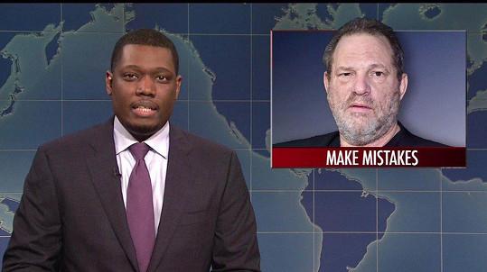 Producent Harvey Weinstein má z ostudy kabát, teď aby chodil do konce života kanály.