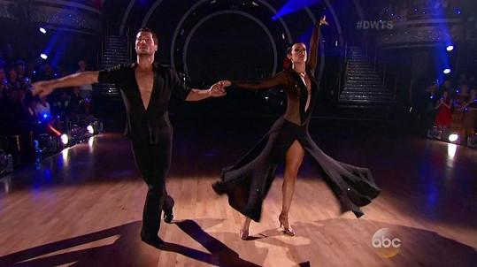 S tanečním partnerem Valentinem Chmerkovským jim to dokonale ladilo.