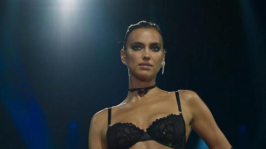 Irina Shayk nikdy nezklame.
